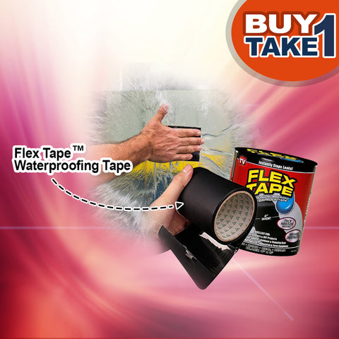 Professional Waterproof Sealing Flex Tape - (60% OFF SALE TODAY ONLY! - BUY 1 TAKE 2)