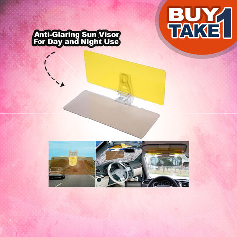 Anti-Glare Sun and Night Visor - BUY 1 TAKE 1
