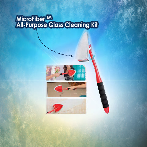 MicroFiber™ All-Purpose Glass Cleaning Kit