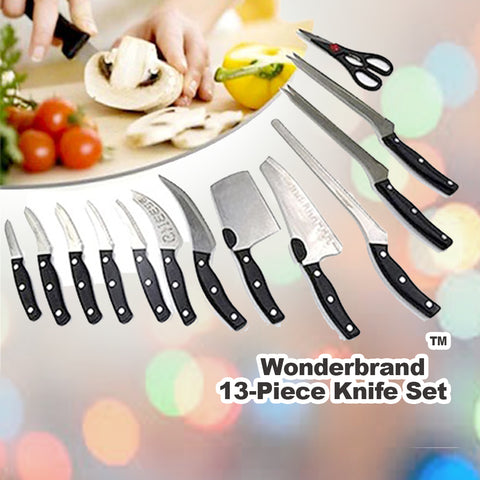Wonderbrand™ 13-Piece Knife Set