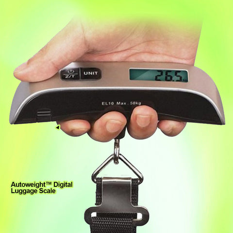 AutoWeight™ Digital Luggage Scale