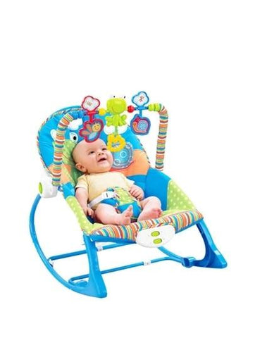 Newborn-to-Toddler Foldable Baby Cradle Rocking Chair
