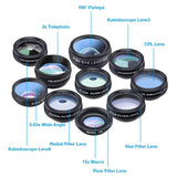 Professional 10 in 1 Camera Lens Kit for Smartphones