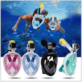 WaterBuddy™ Full Face Snorkeling Set