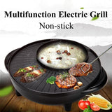 KBBQ™ Electric BBQ Non-Stick Grill and Shabu-shabu