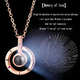 "100 Languages ""I Love You"" Ring & Necklace (BUY 1 TAKE 1)"
