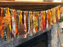 Load image into Gallery viewer, Fall Fabric Garland