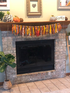 Fall Fabric Garland