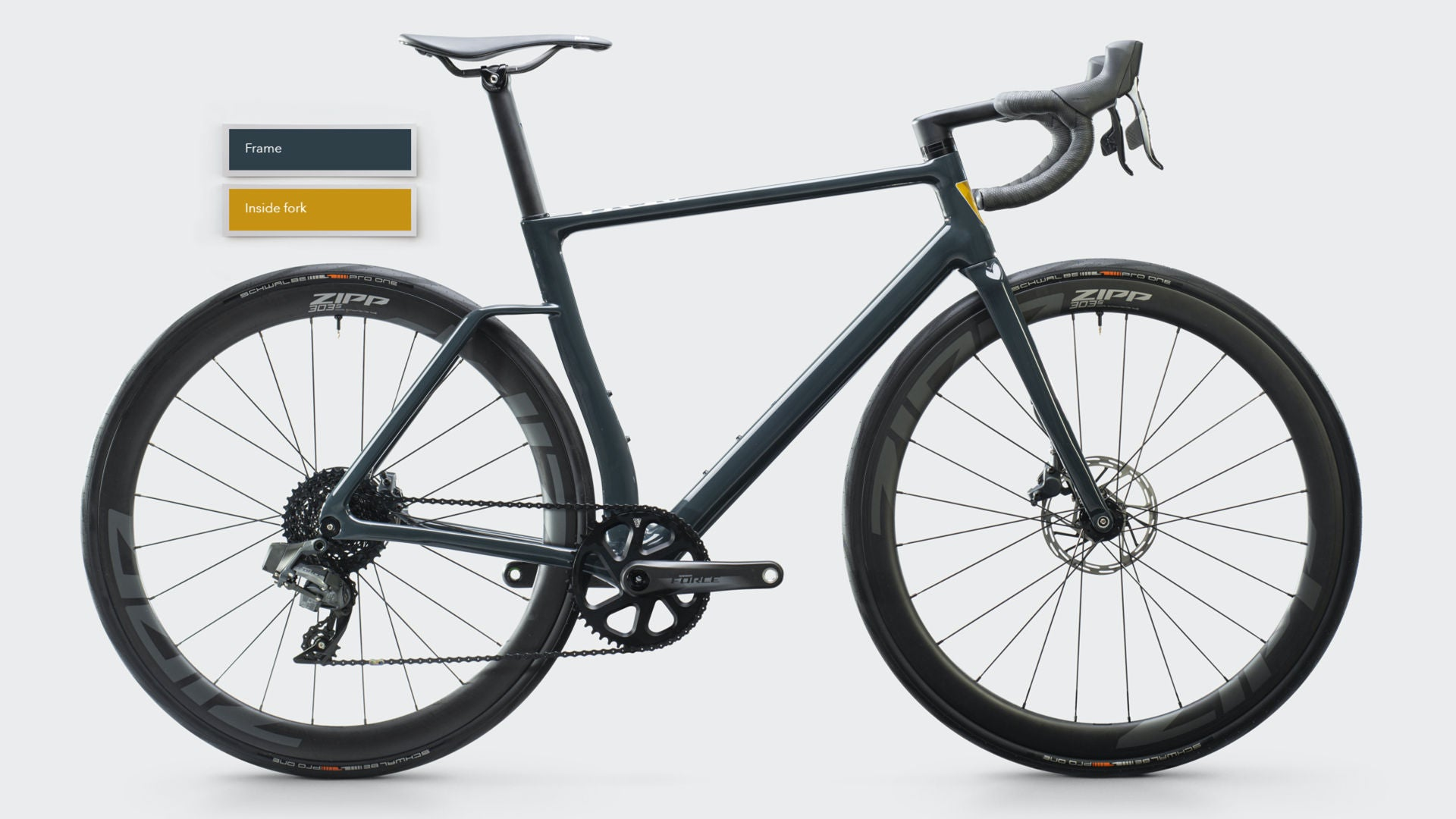 Vielo R+1 Alto Road Bike - Anthracite