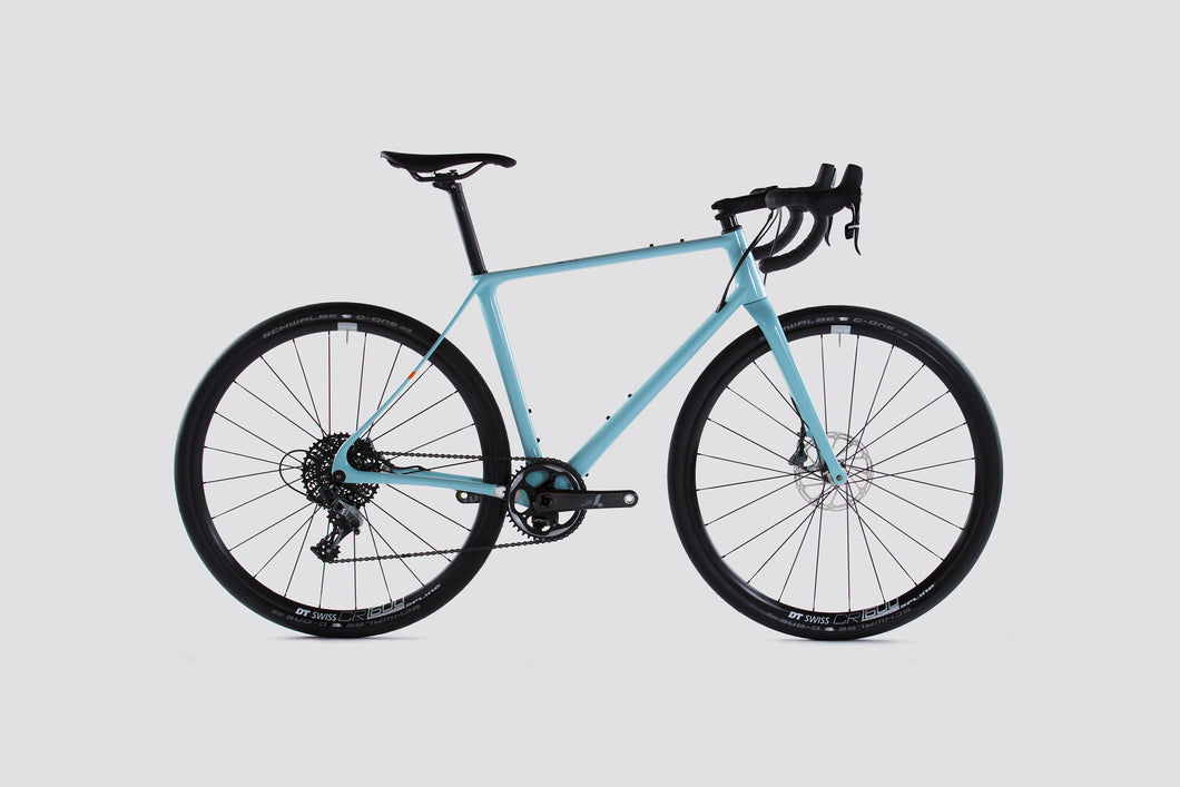 Vielo V+1 UD Light Blue Force Edition Gravel Bike