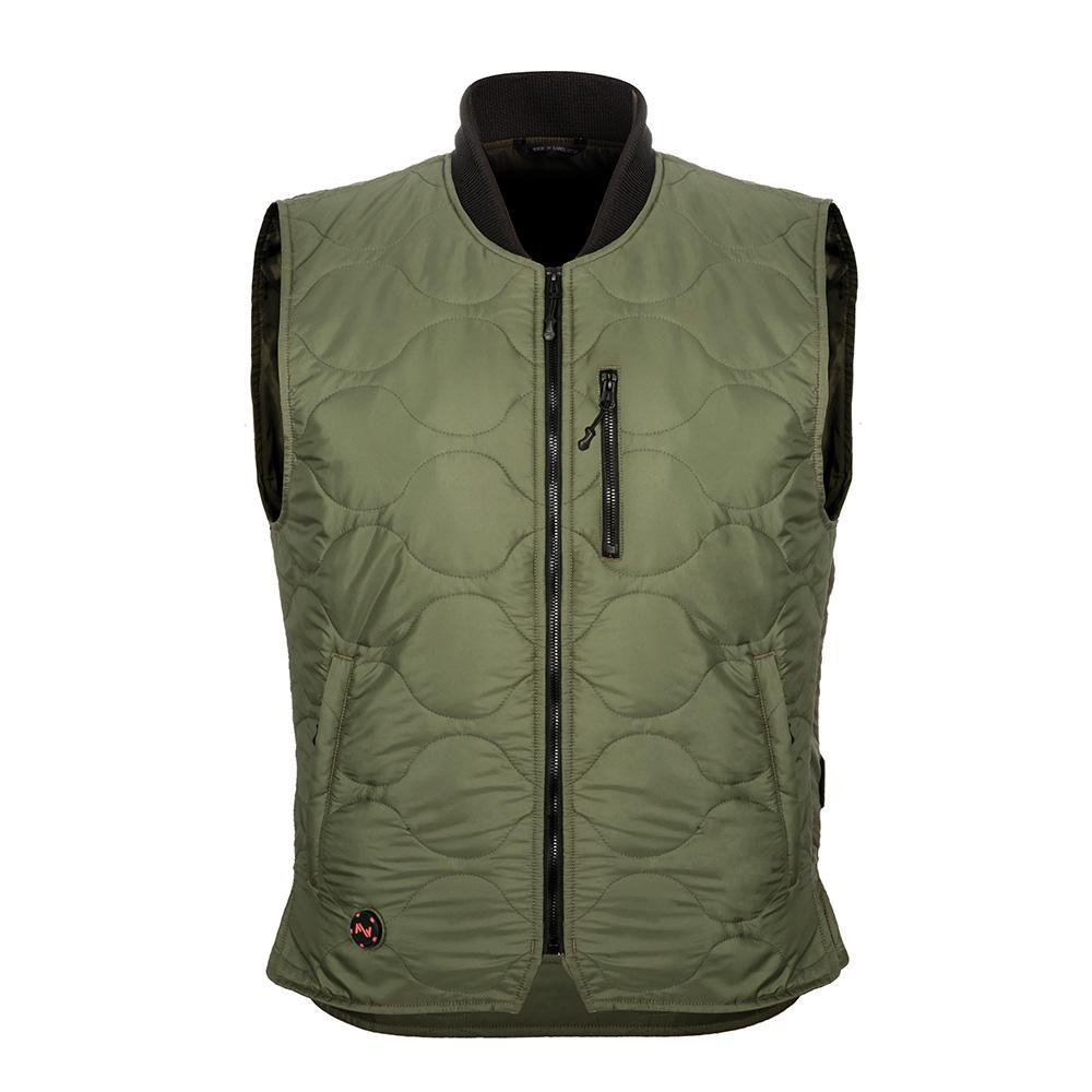 Mobile Warming Technology Vest olive / sm Company Vest Men's Heated Clothing