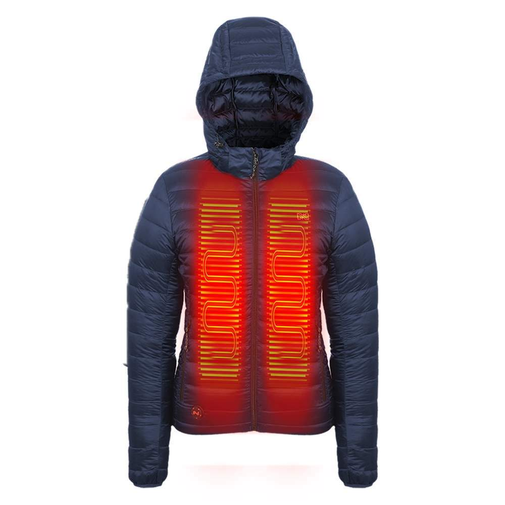 Mobile Warming Technology Women Summit Down Jacket Women's Heated Clothing
