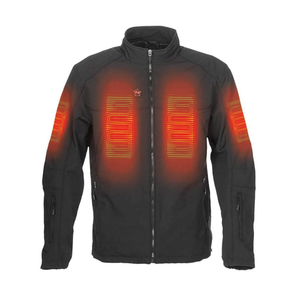 Mobile Warming Technology Jacket Dual Power Heated Jacket Men's Heated Clothing