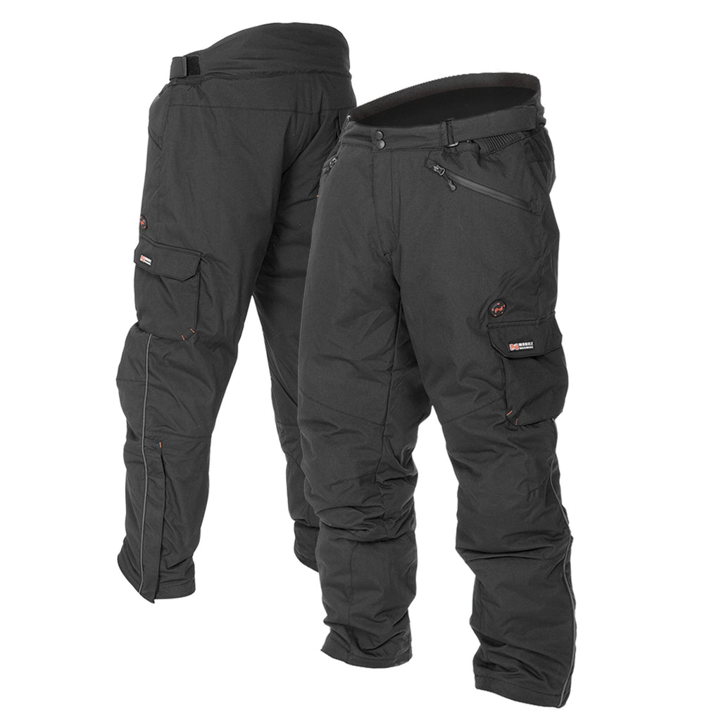 Mobile Warming Technology Pants Black / SM Dual Power Heated Pant Unisex Heated Clothing