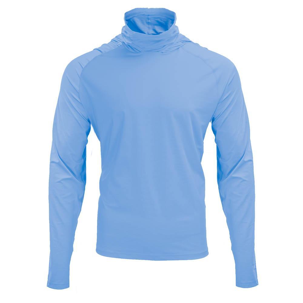 Mobile Cooling Technology Hoodie Cerulean / MD Mobile Cooling® Men's Hooded Long Sleeve Shirt Heated Clothing