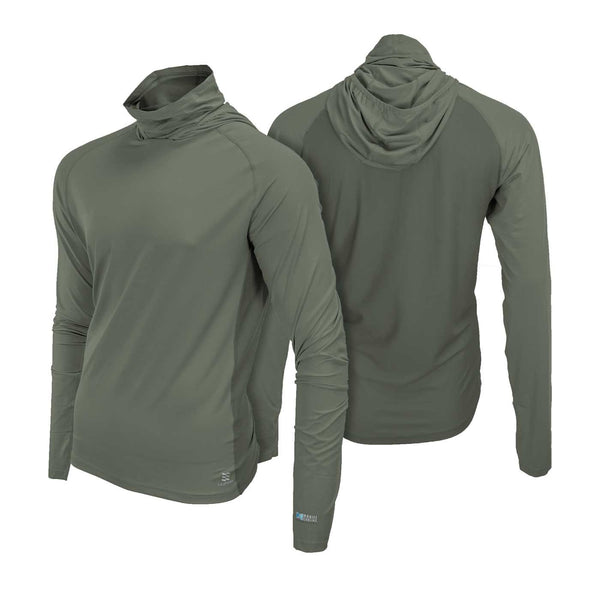 Mobile Cooling Technology Hoodie Mobile Cooling® Hooded Long Sleeve Shirt Heated Clothing
