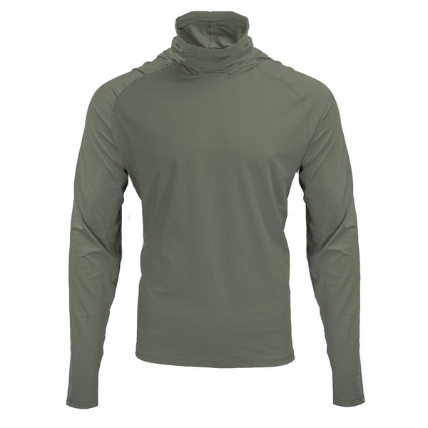 Mobile Cooling Technology Hoodie Morel / SM Mobile Cooling® Hooded Long Sleeve Shirt Heated Clothing