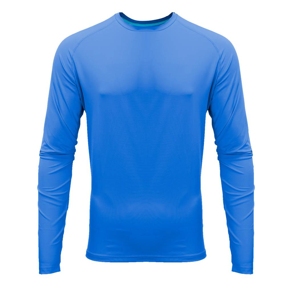 Mobile Cooling Technology Shirt Blue / SM Mobile Cooling® Men's Long Sleeve Shirt Heated Clothing