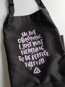 Piper Halliwell Quote Apron