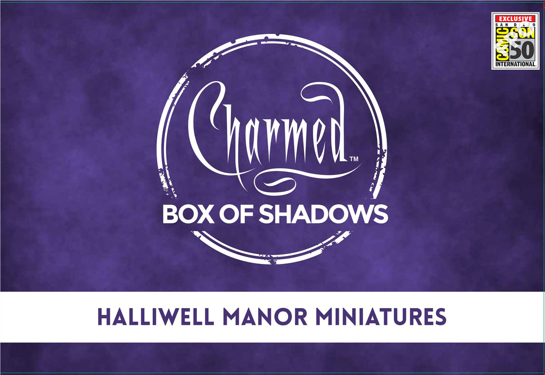 SDCC 2019: CHARMED HALLIWELL MANOR MINIATURES EXCLUSIVE SET