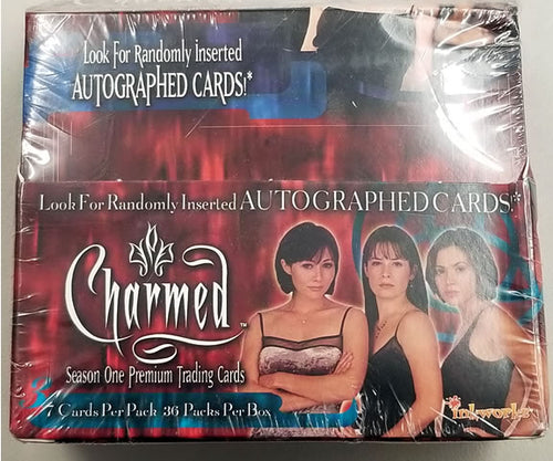 Charmed Season One Sealed Trading Card Box