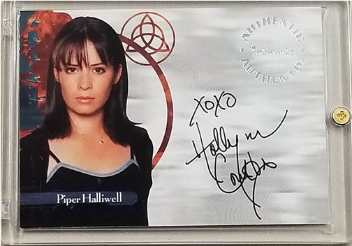 Holly Marie Combs Autograph: Inkworks Charmed Season 1