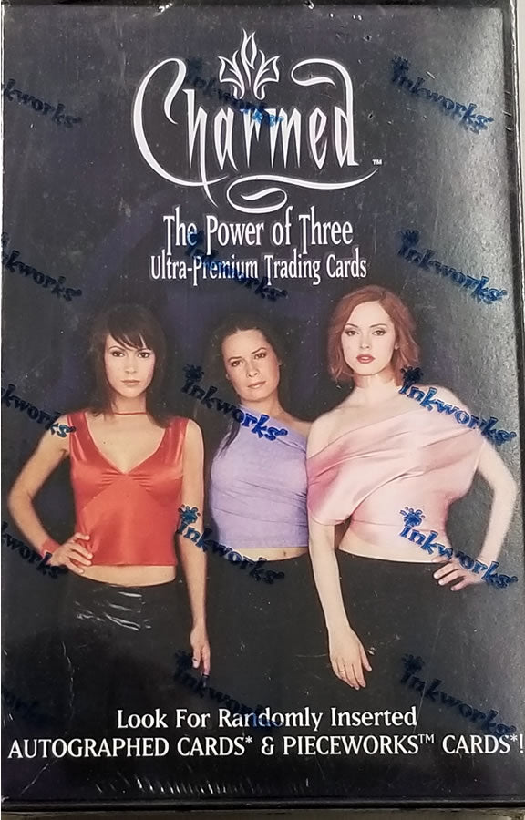Inkworks Charmed Power of Three Sealed 24-Pack Trading Card Box