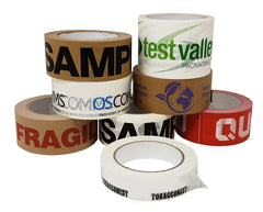 Printed self adhesive paper tapes