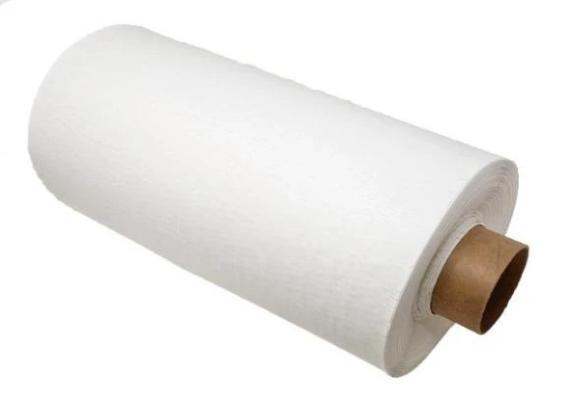 White Hexcel paper protective eco-friendly wrap.