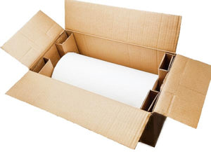 White HexcelWrap in a shipping box for safe delivery and storage