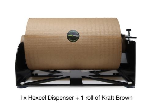 HexcelWrap paper alternative to bubblewrap