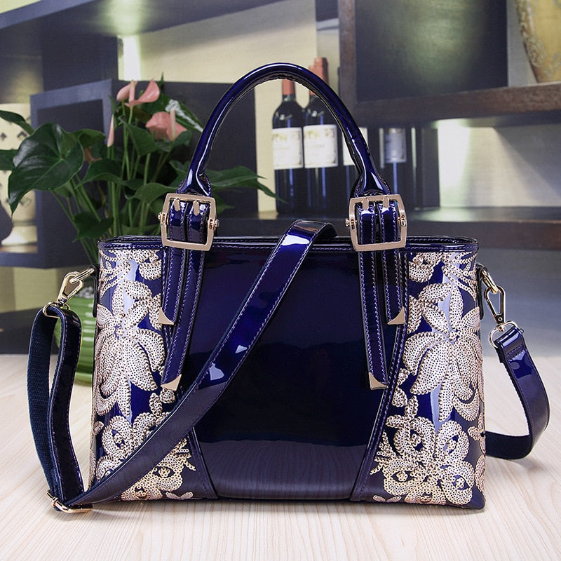 0822-1 Wholesale Europe and United States High-grade Leather Handbag Banquet Bags Portable Female Shoulder Bag - Shoplootlos