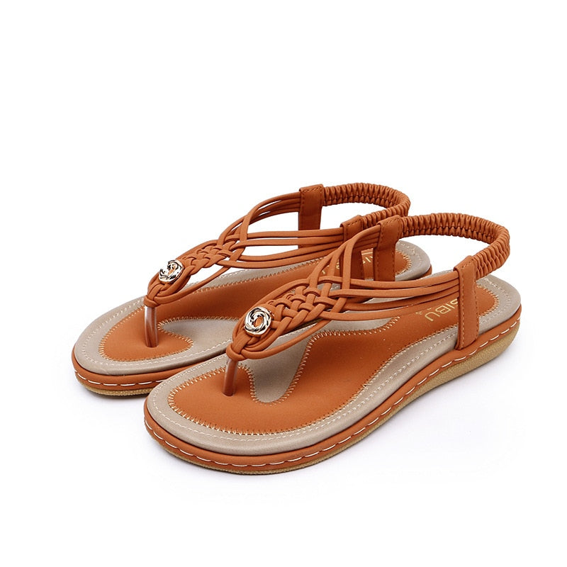 2019 Summer New Women sandals Fashion casual comfortable Woman shoes large size beach Girl sandals - Shoplootlos