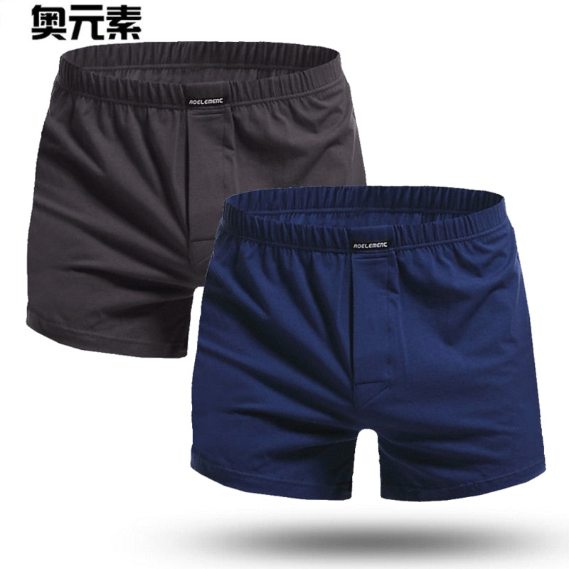 f93685878bb7eb Brand Sexy Men Underwear 2Pcs\lot Boxer Shorts Mens Trunks Plus Size Man  Cotton Slacks