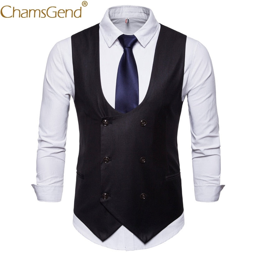 Free Shipping Mens Formal Blazer Suit Vest British Style Gentleman Business Man Jacket Coat 80808 - Shoplootlos