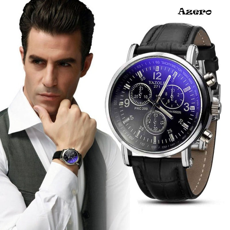 Relojes Hombre 2017 Luxury Fashion Crocodile Faux Leather Mens Analog Watch Watches New Mens Watches Top Brand Luxury Relogio