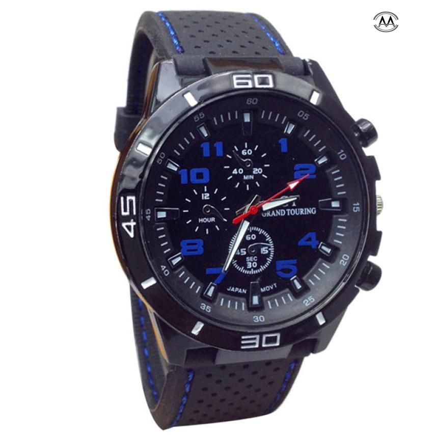 Relojes Hombre 2018 Quartz Watch Men Military Watches Sport Wristwatch Silicone Fashion Hours Mens Watches Top Brand Luxury