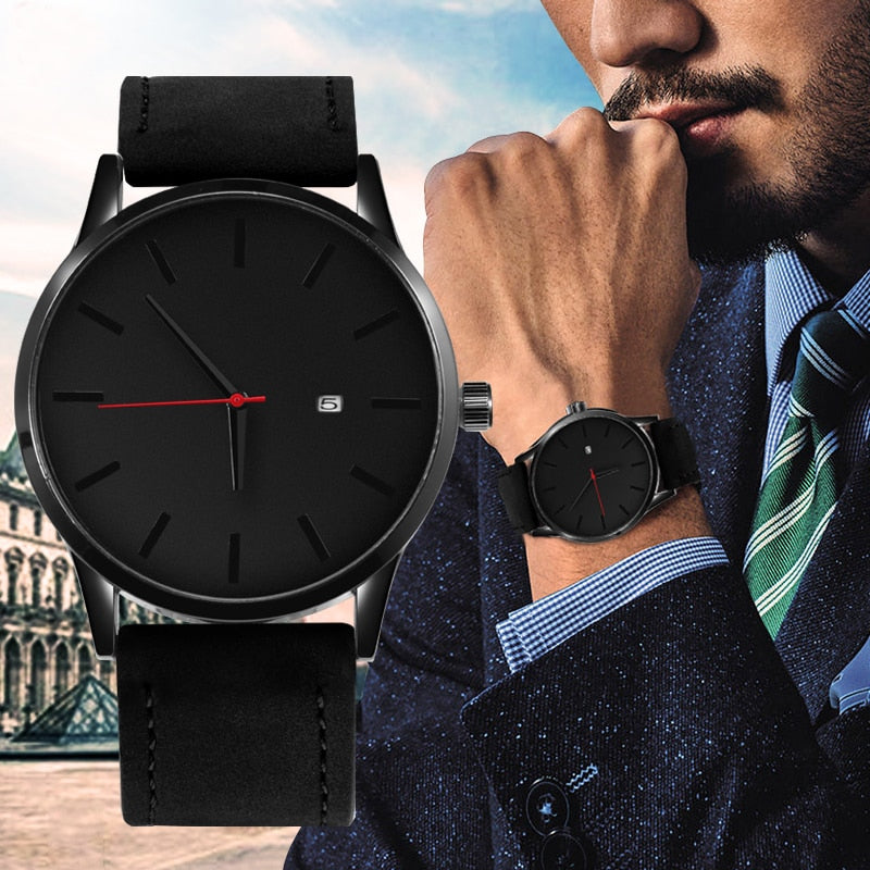 SOXY Top Brand Luxury Men's Watch Fashion Watch For Men 2018 NEW Watch Men Sport Watches Leather Casual Reloj Hombre Saati