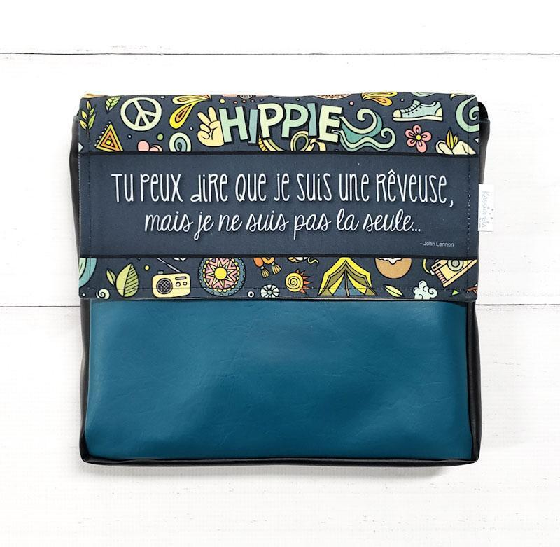 sac à main-base-vegan-rabat interchangeable