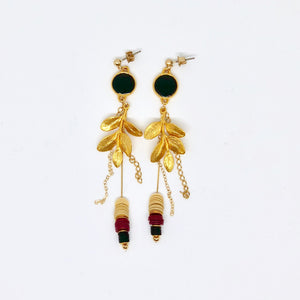 Five Leaves - Earrings
