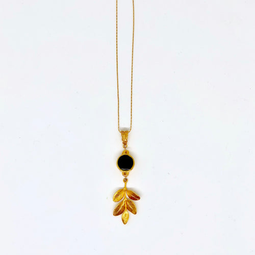 Five Leaves - Pendant Necklace