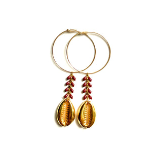 St Barth Earrings 30mm