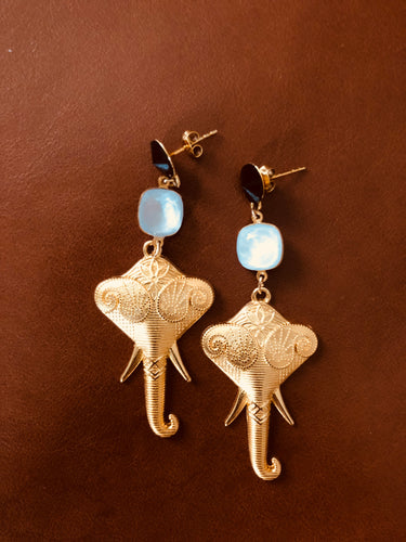 Andamane - Elephant Earrings
