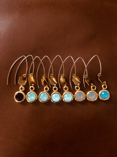Andamane - pendant earrings