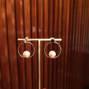 Tulum Earrings - Pearls SINGOLO/MONO