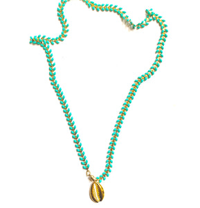 St Barth Necklace Pendant Shell