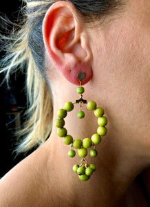 Martinica - Wooden Earrings