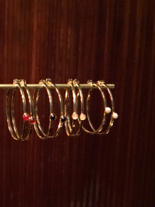 Mustique Hoop earrings