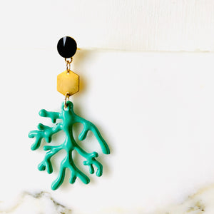 Tulum Earrings -Corals COPPIA/PAIR