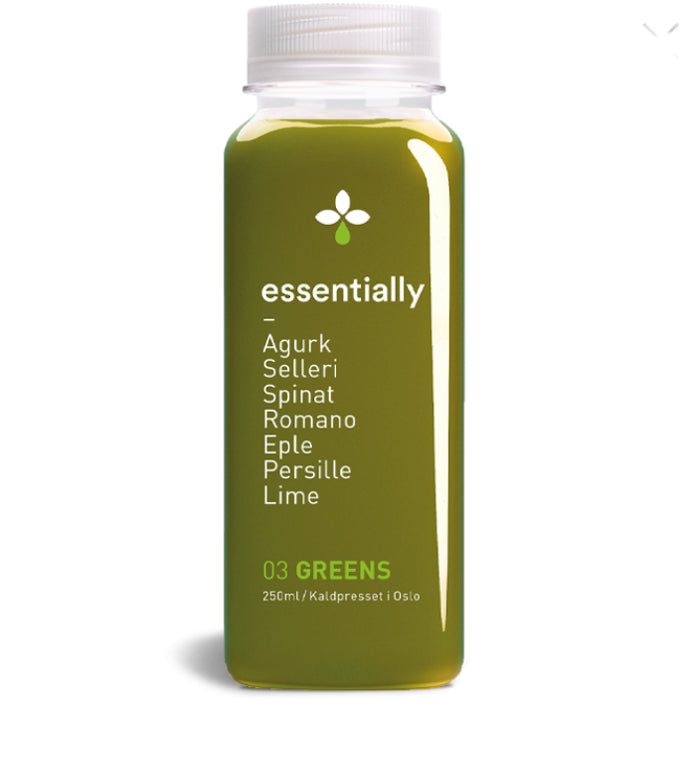 Essentially Juice, Greens